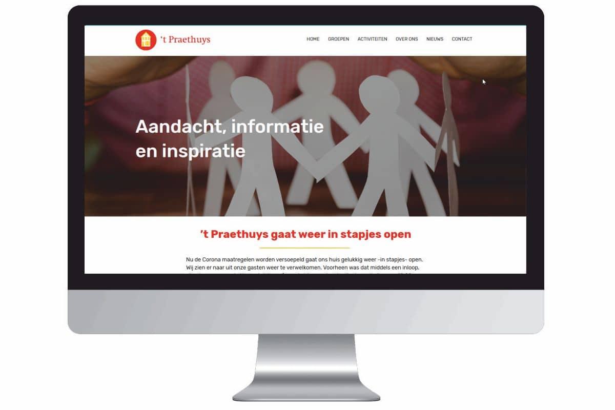 Vernieuwde website 't Praethuys
