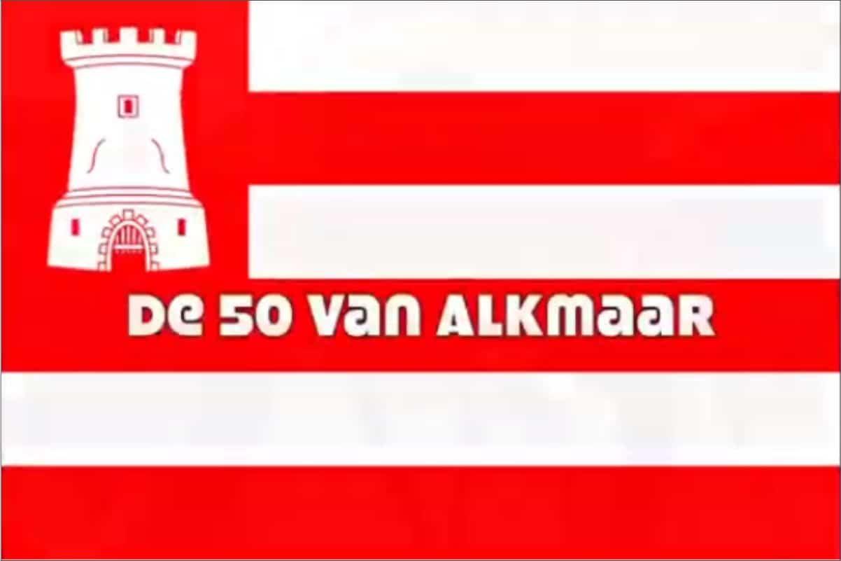 Drie Musketiers lopen de 50 van Alkmaar voor 't Praethuys
