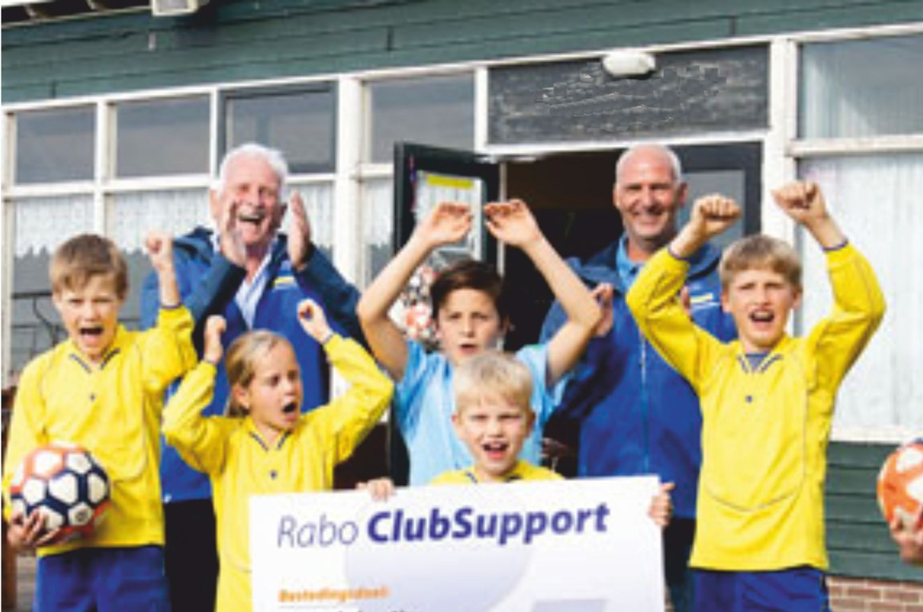 Steun 't Praethuys met     Rabo ClubSupport